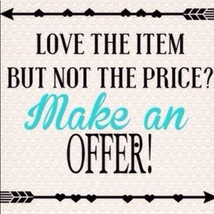 Accessories - Make an Offer - Happy Shopping!